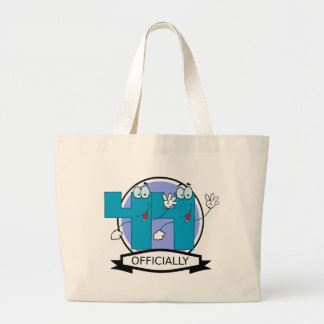 Officially 44 Birthday Banner Bag