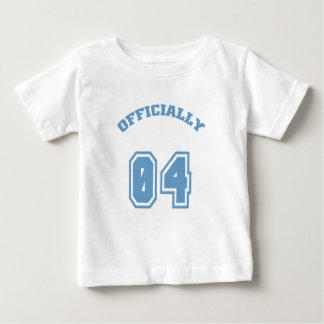 Officially 4 infant t-shirt