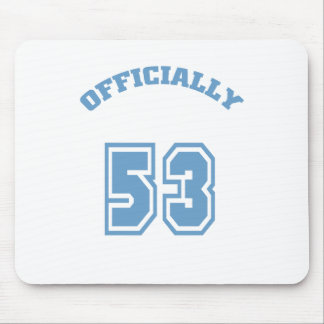 Officially 53 mouse pad