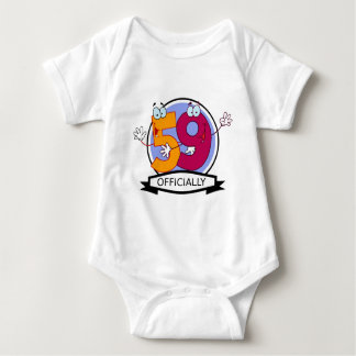 Officially 59 Birthday Banner Tee Shirt