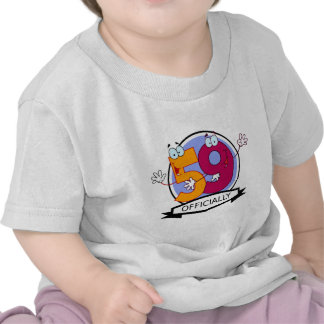 Officially 59 Birthday Banner T-shirt