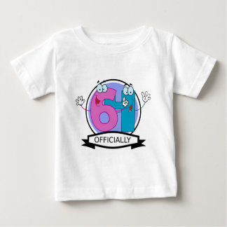 Officially 64 Birthday Banner Baby T-Shirt