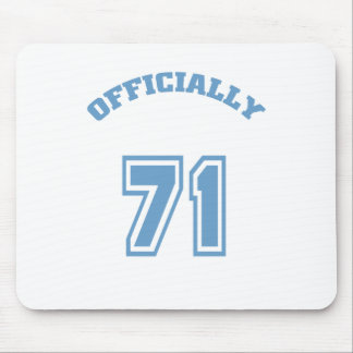 Officially 71 mouse pad