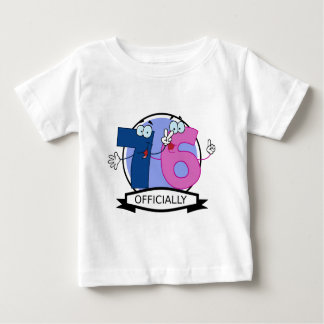 Officially 76 Birthday Banner Baby T-Shirt