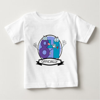 Officially 84 Birthday Banner Baby T-Shirt