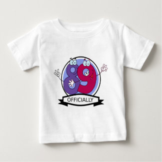 Officially 89 Birthday Banner Baby T-Shirt