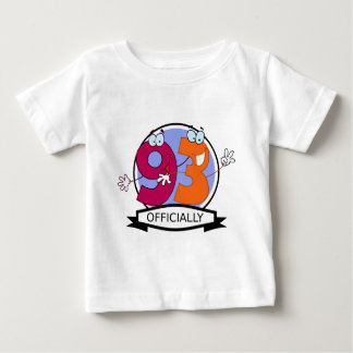 Officially 93 Birthday Banner Baby T-Shirt