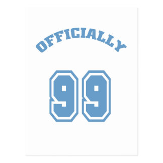 Officially 99 postcard