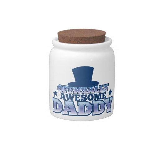 Officially AWESOME daddy with a top hat from Jazzy Candy Jars