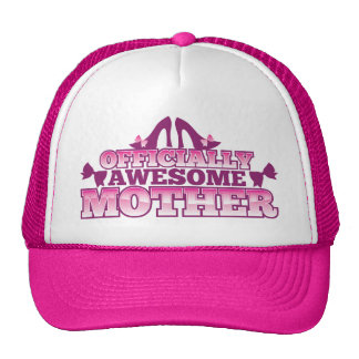 Officially AWESOME Mother! with shoes cool! from J Trucker Hat