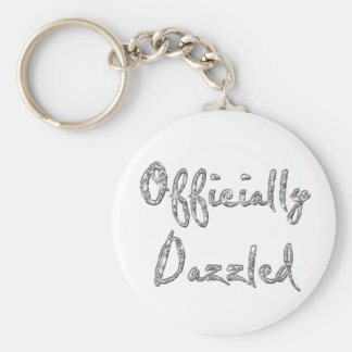 officially dazzled keychain