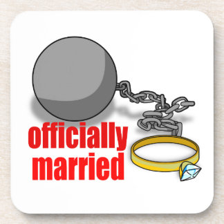 Officially Married Coaster