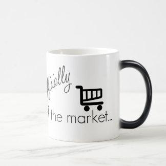 Officially off the Market- Funny Wedding Design Magic Mug