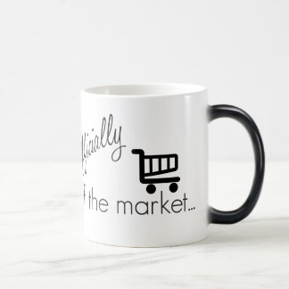 Officially off the Market- Funny Wedding Design 11 Oz Magic Heat Color-Changing Coffee Mug