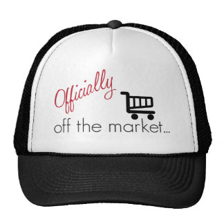 Officially Off the Market Mesh Hats