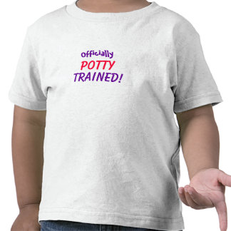 Officially Potty Trained Shirt