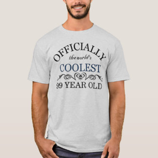 Officially the world's coolest 99 year old T-Shirt