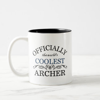 Officially the world's coolest Archer Two-Tone Coffee Mug