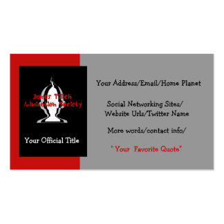 Officially Yours Business Card
