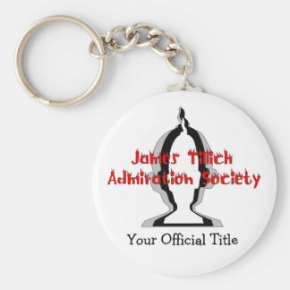 Officially Yours Basic Round Button Keychain
