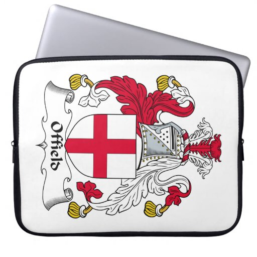 Offield Family Crest Computer Sleeve