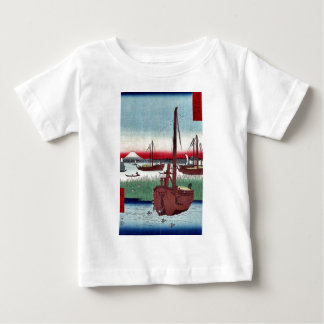 Offing of Tsukuda by Ando,Hiroshige T Shirts