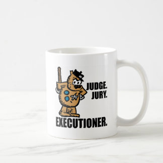 "Offisa Pupp: ""Judge, Jury, Executioner"" Coffee Mug"