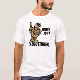"Offisa Pupp: ""Judge, Jury, Executioner"" T-Shirt"