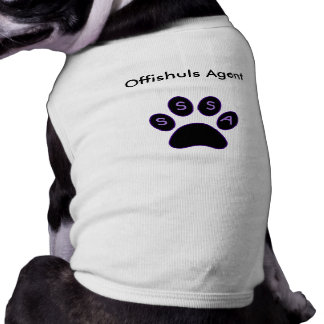 Offishuls Shirt for agents! Pet Clothing
