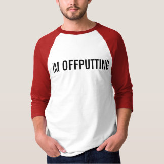 offputting t shirt