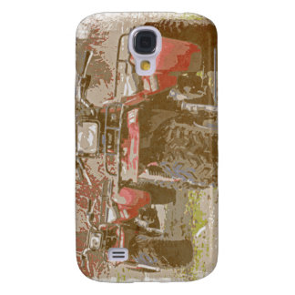Offroad ATC All Terrain Cycle Distressed Grunge Samsung Galaxy S4 Cases