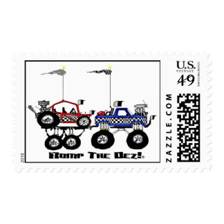 Offroad Dunebuggy Stamps