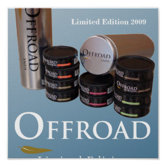 Offroad Snus Limited Edition 2009 Poster