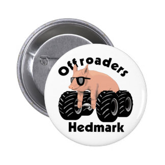 Offroaders Hedmark - botón Pin