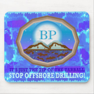 Offshore Drilling Mouse Pad