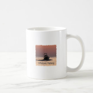 Offshore Fishing Boat Logo Coffee Mugs