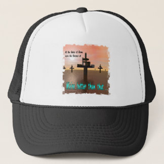 Offshore Oil Drilling Trucker Hat