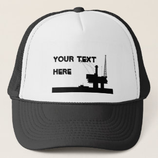 Offshore Oil Mesh Hat