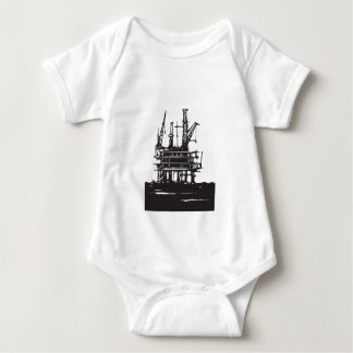Offshore Oil Rig Baby Bodysuit