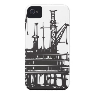 Offshore Oil Rig iPhone 4 Case
