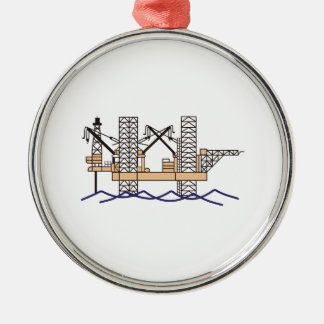 OFFSHORE OIL RIG CHRISTMAS TREE ORNAMENTS