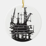Offshore Oil Rig Ornaments
