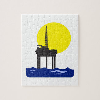 OFFSHORE OIL RIG PUZZLE