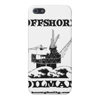 Offshore Oilman,Oil,Gas,Platform,Drilling Rigs iPhone 5 Covers