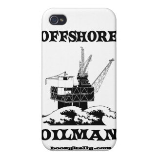 Offshore Oilman,Oil,Gas,Platform,Drilling Rigs Case For iPhone 4