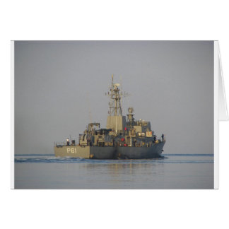 Offshore Patrol Boat Greeting Card
