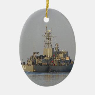 Offshore Patrol Boat Ceramic Ornament