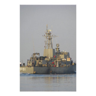 Offshore Patrol Boat Customized Stationery