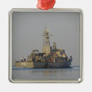 Offshore Patrol Boat Metal Ornament
