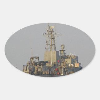 Offshore Patrol Boat Oval Sticker